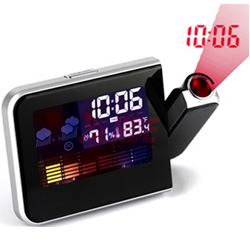 Digital LED Display Weather Station Projection 