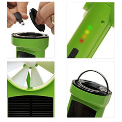 K3 Eco Friendly Wind and Solar Charger