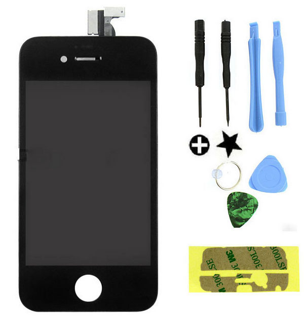 Replacement LCD Touch Screen Digitizer Glass Assembly OEM for iPhone 4S 