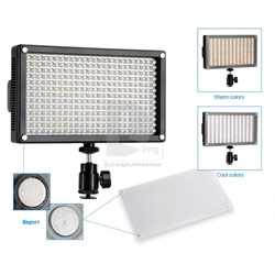 Super lightweight 312-piece-LED Video Light (LED312AS)