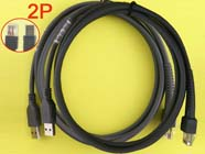 2pcs CBA-U01-S07ZAR 7ft 2M USB 