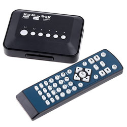 Multi TV Media   Player HDMI 1080P HD USB SD MMC RMVB MP3 AVI MPEG Divx 