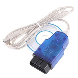 USB OBD-II-2 KKL 409.1 OBD2 Cable VAG-