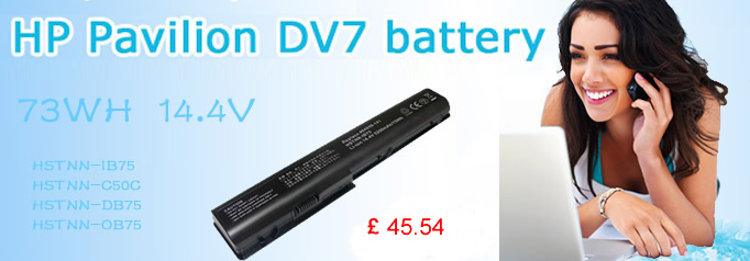 hp dv7 battery
